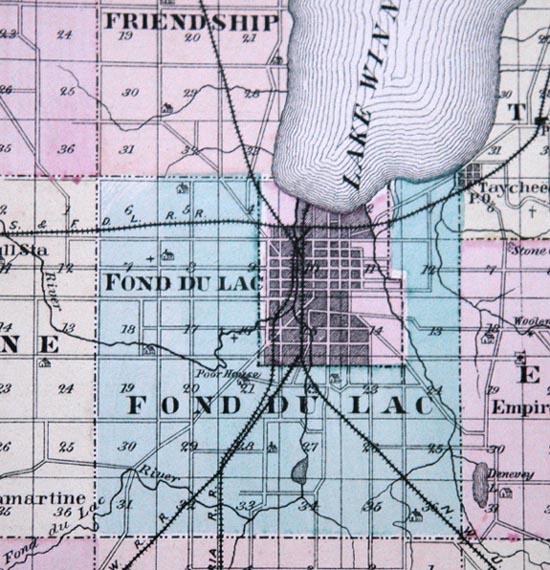 Fond du Lac County Wisconsin History 1878