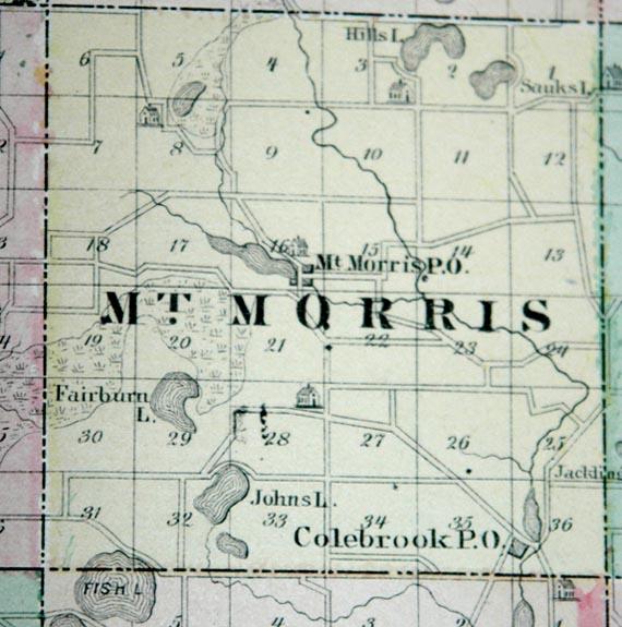 Waushara County Wisconsin History 1878
