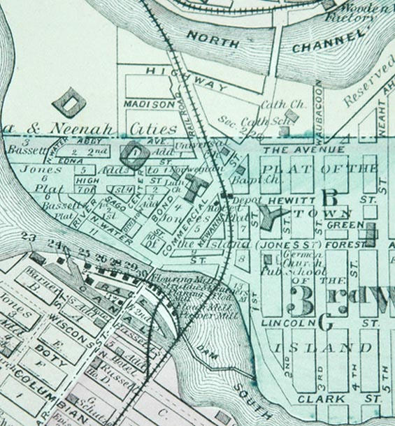 Winnebago County Wisconsin History 1878