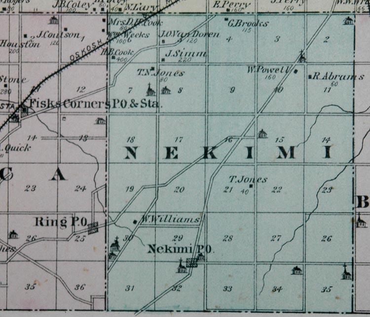 Winnebago County, Wisconsin, History - 1878