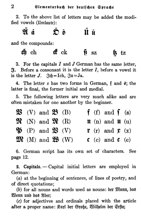 1912 Old German Alphabet & Script - Pg 2